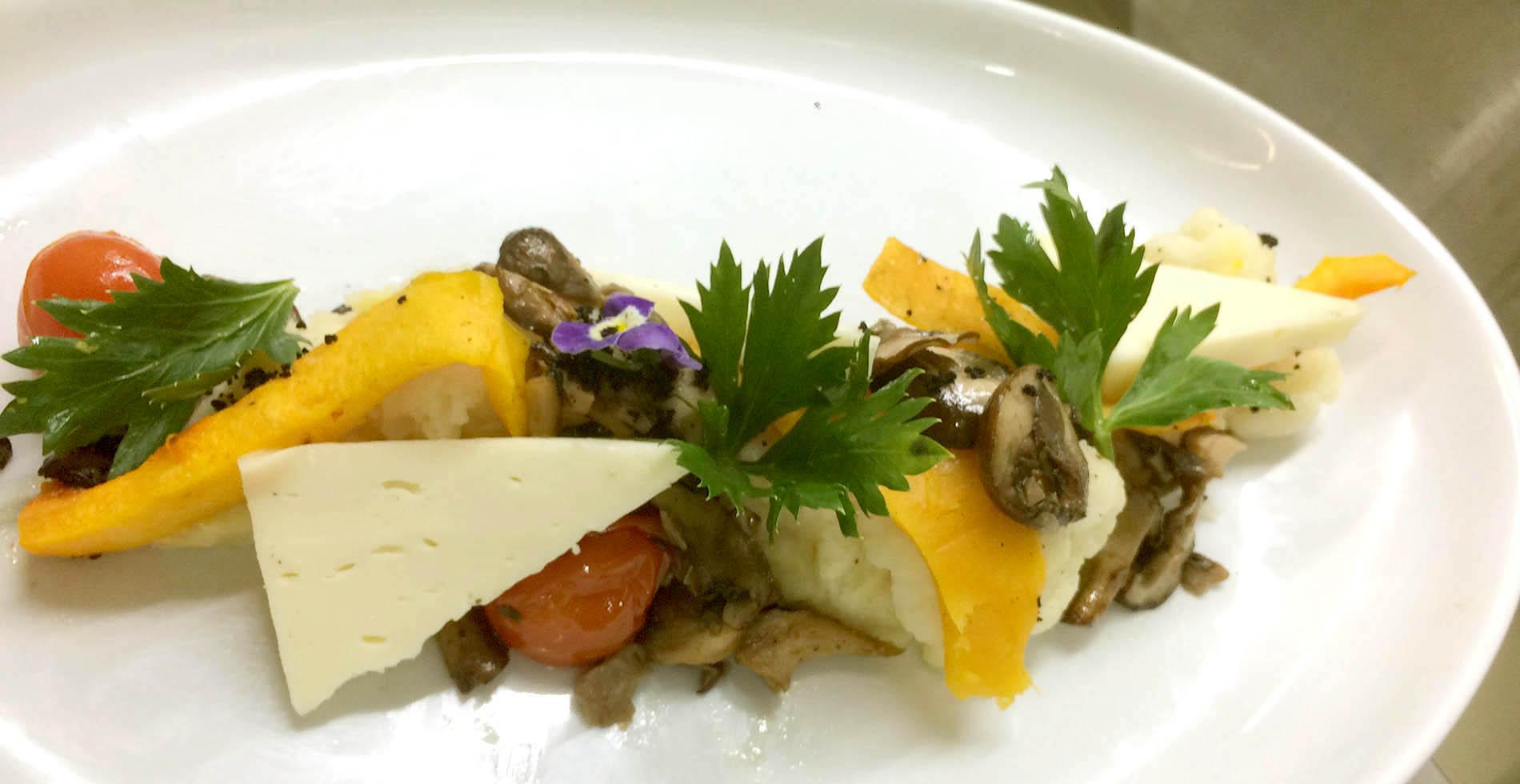 Een vegetarisch gerecht